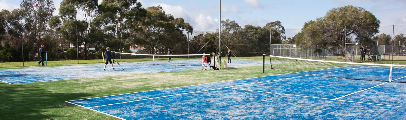 The new tennis courts at Knoxfield Tennis Club are now available for use!