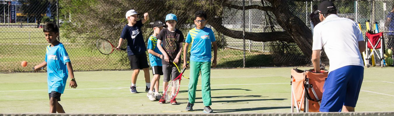 Everyone is a Hot Shots At Knoxfield Tennis Club